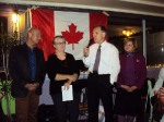 2013 DEC ATHENS COSY CANADIAN CHRISTMAS CAROL SINGALONG