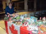 2015 - DECEMBER - THESSALONIKI - CANADA TABLE AT IWOG BAZAAR